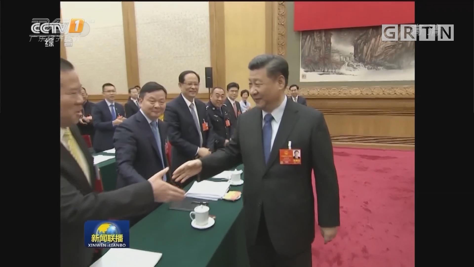 习近平参加广东代表团审议