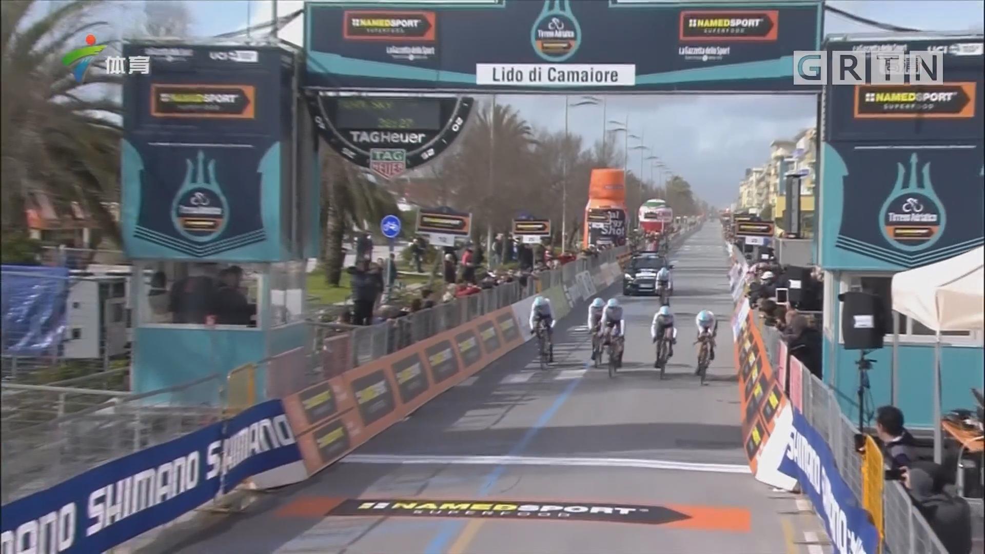 双海赛 BMC车队排名第一 卡文迪什摔车破相