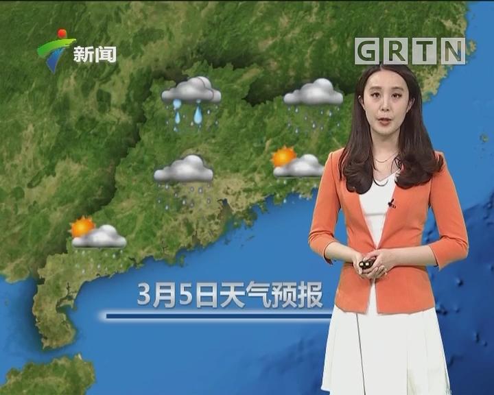 20180304天气预报