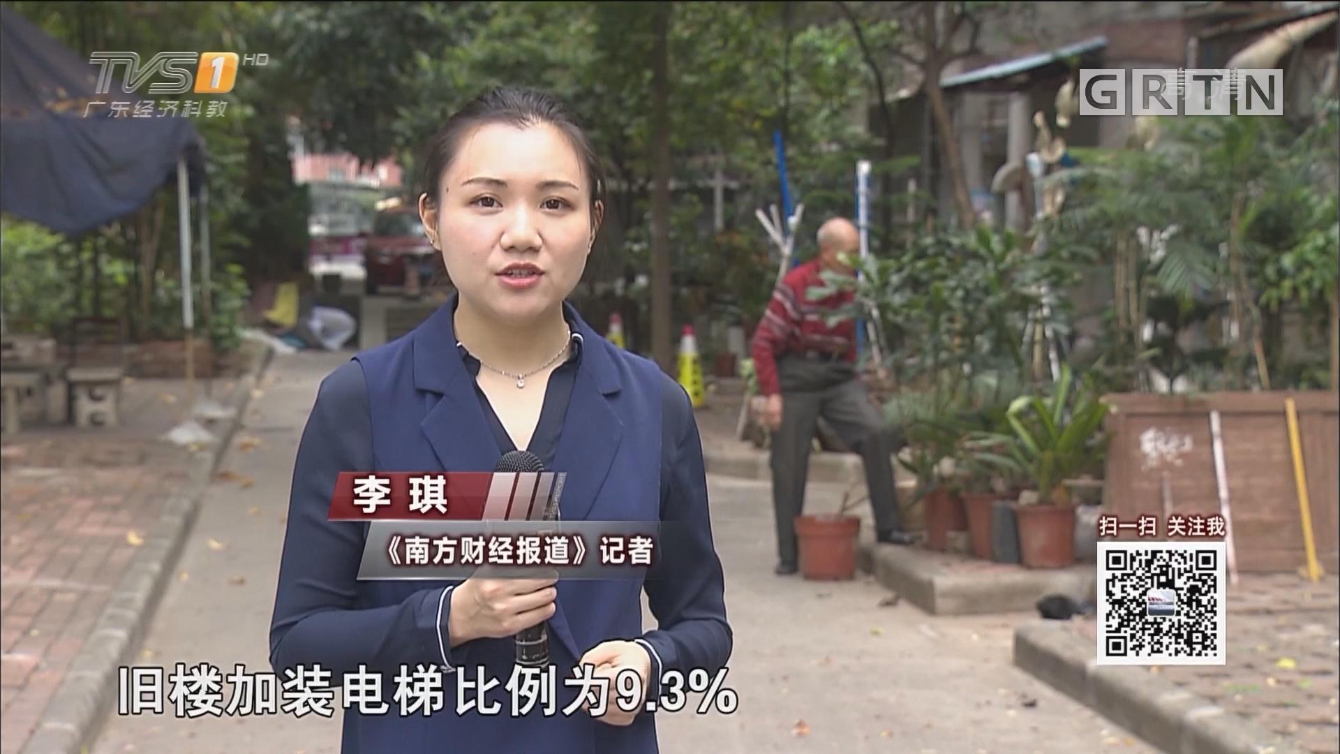 旧楼装电梯 广州六个区说了有补助