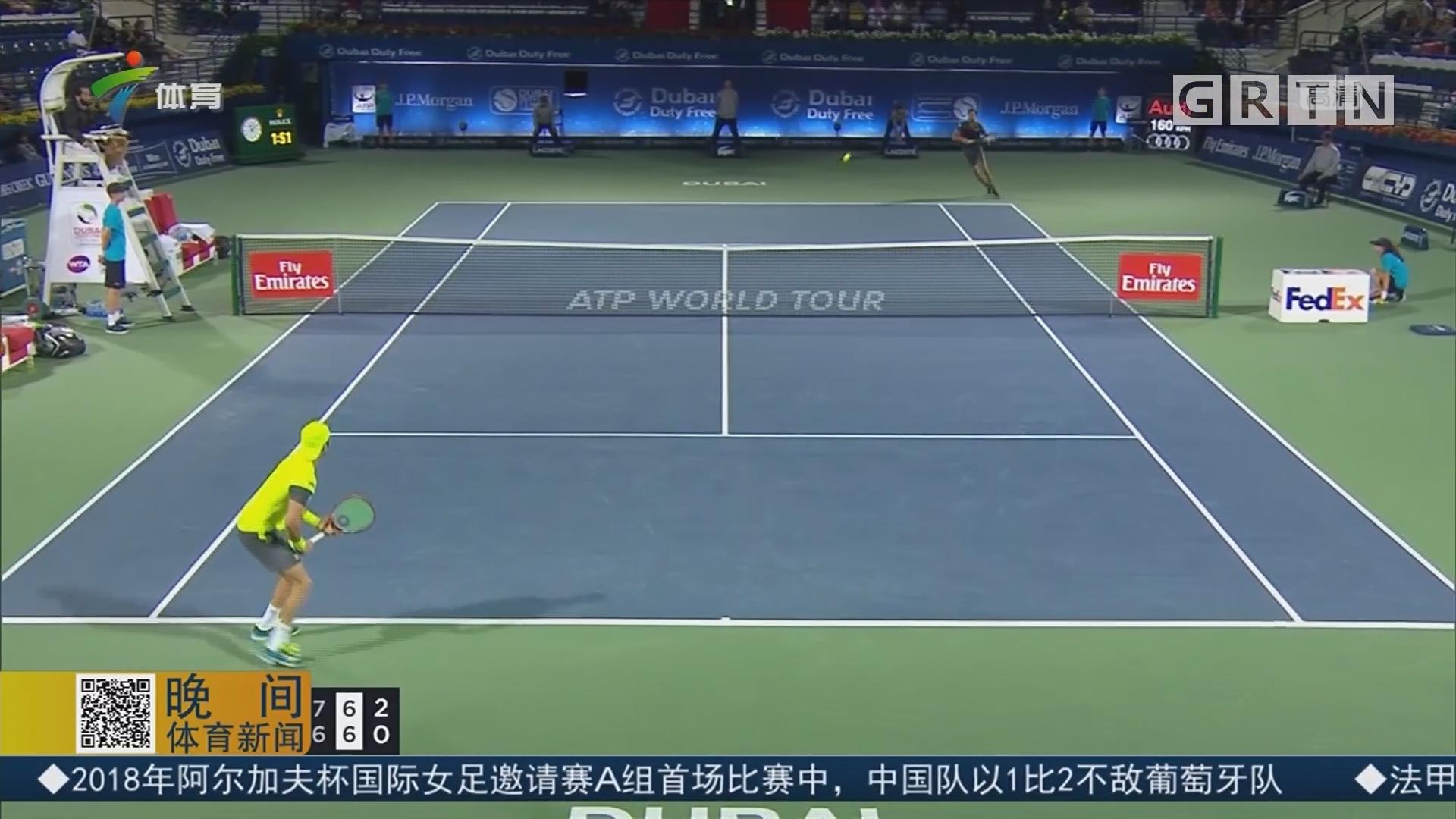 ATP迪拜赛 贾兹里淘汰哈塞晋级