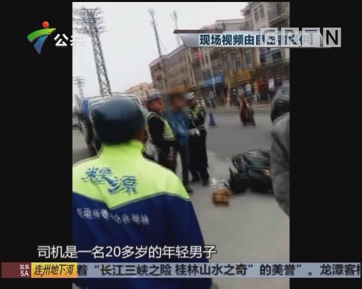 佛山:交警清查无牌证车 男子妨碍公务被拘留