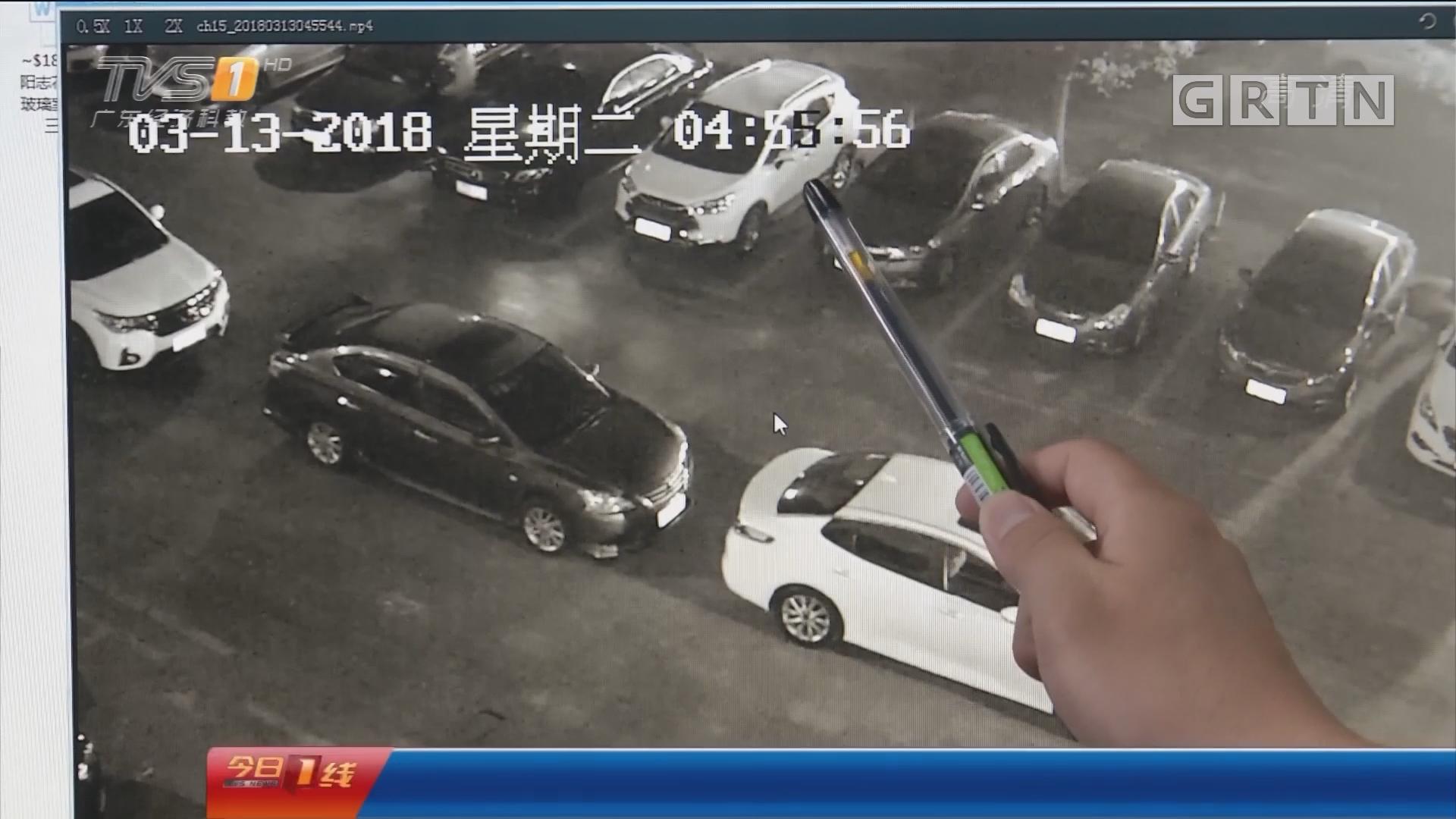 东莞石碣:给力!警方4小时侦破砸车盗窃案