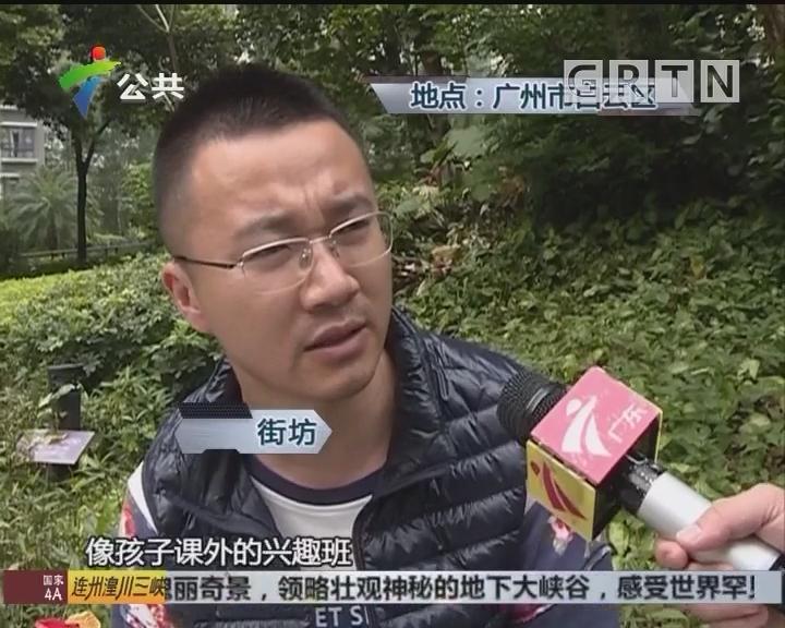 街坊求助:小区培训班鱼龙混杂 影响周边居民