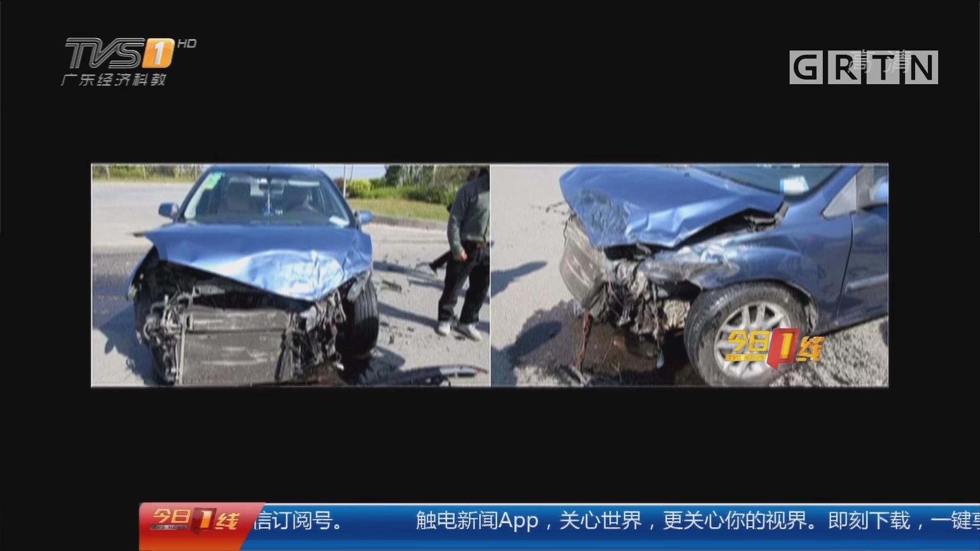 珠海金湾:福特被宝马撞出十几米 却需负全责?