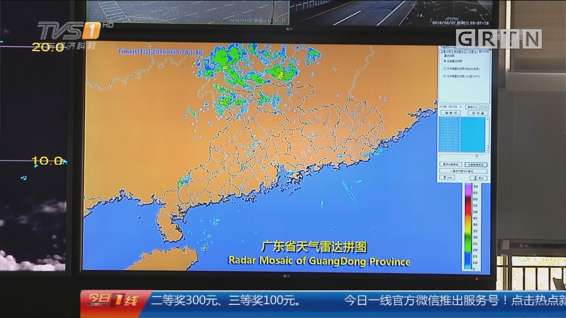 广东开启暴雨+雷电+8级大风模式