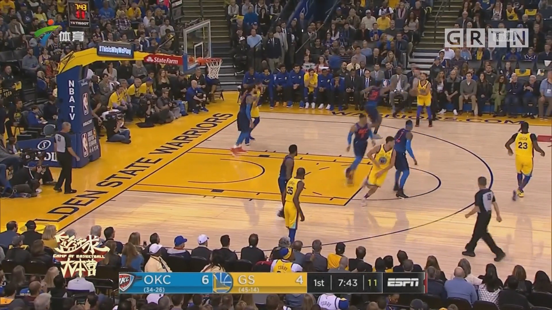 NBA球队实力榜:火箭领衔勇士紧随其后