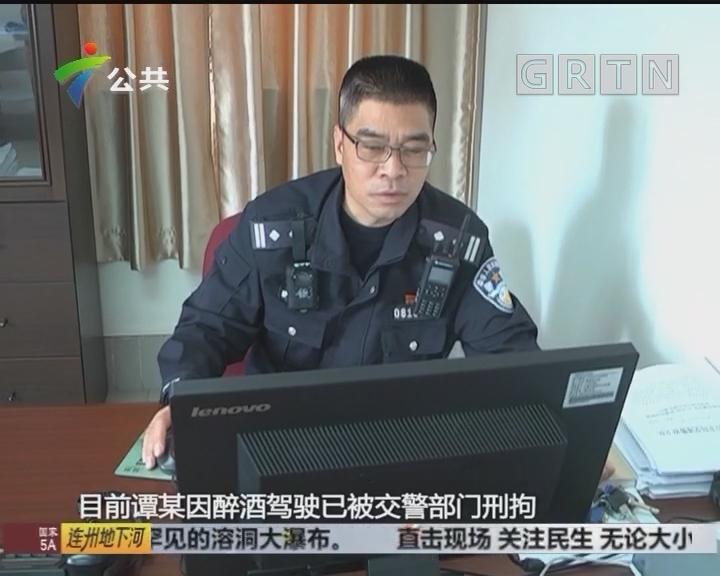 珠海:男子酒驾遇查 试图换位被识破