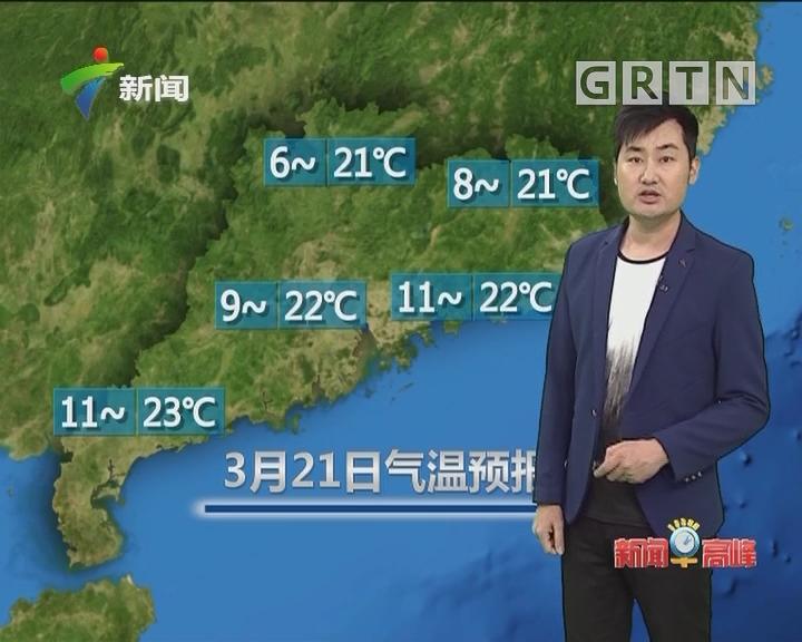 20180321天气预报