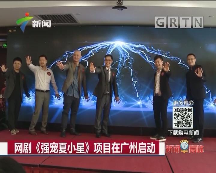 网剧《强宠夏小星》项目在广州启动