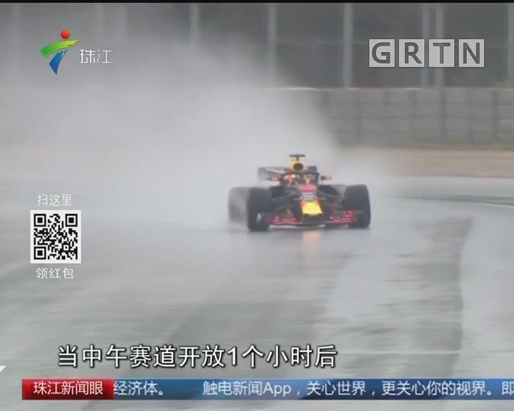 F1巴塞罗那冬试 5人仅跑17圈