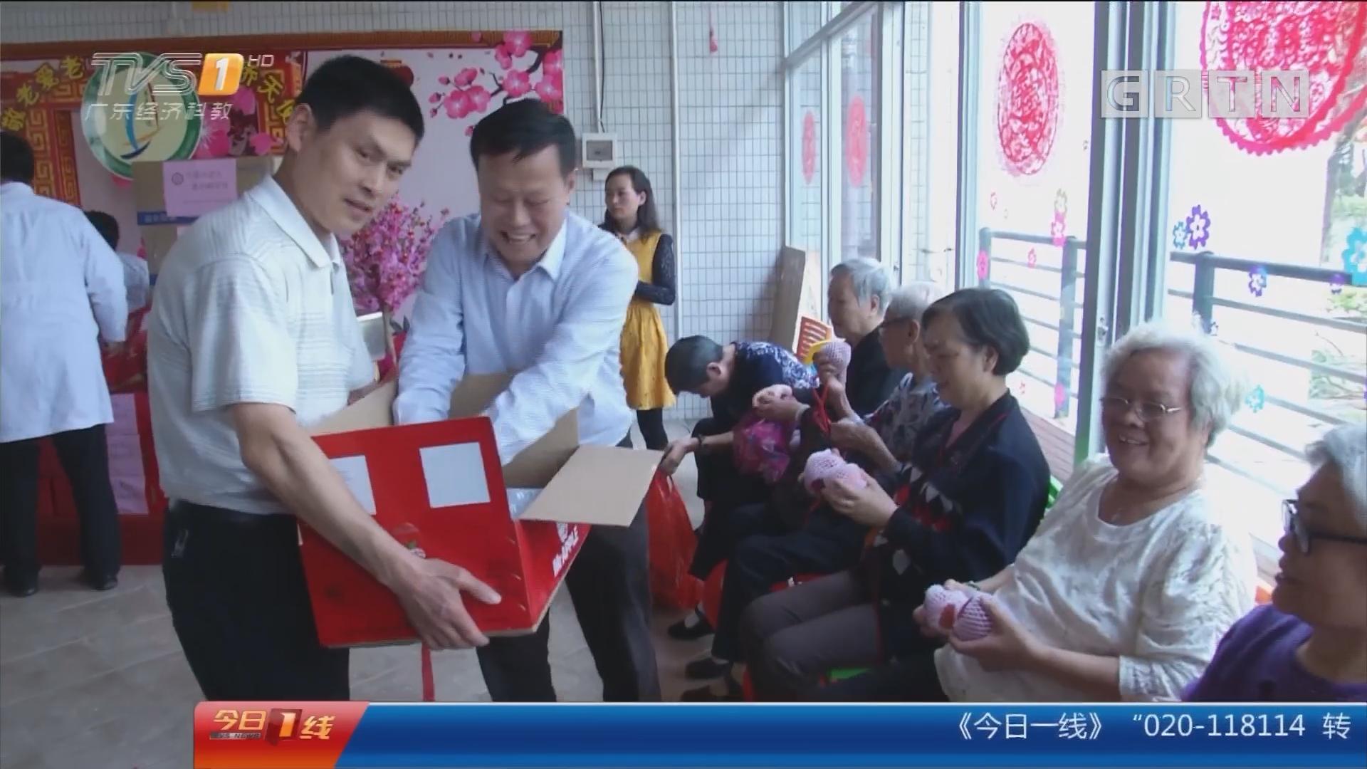 广州:为老人送温暖 热心志愿者一送20年