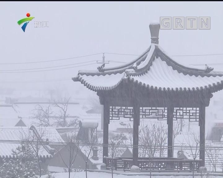 河北:三月春雪入梦来