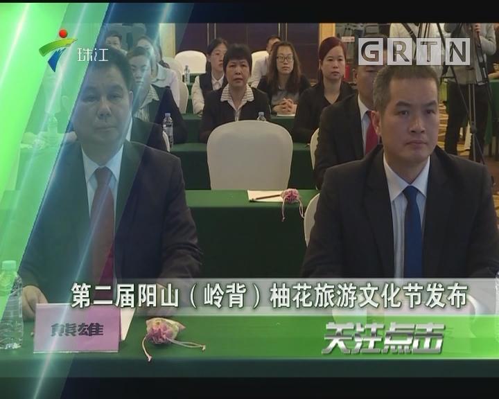 第二届阳山(岭背)柚花旅游文化节发布