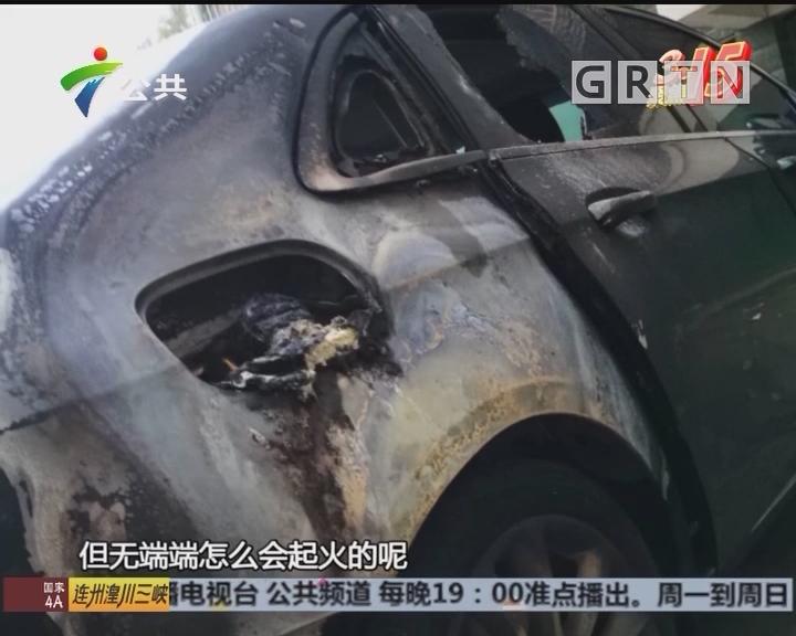 奔驰新车起火烧毁 两份报告结论不同