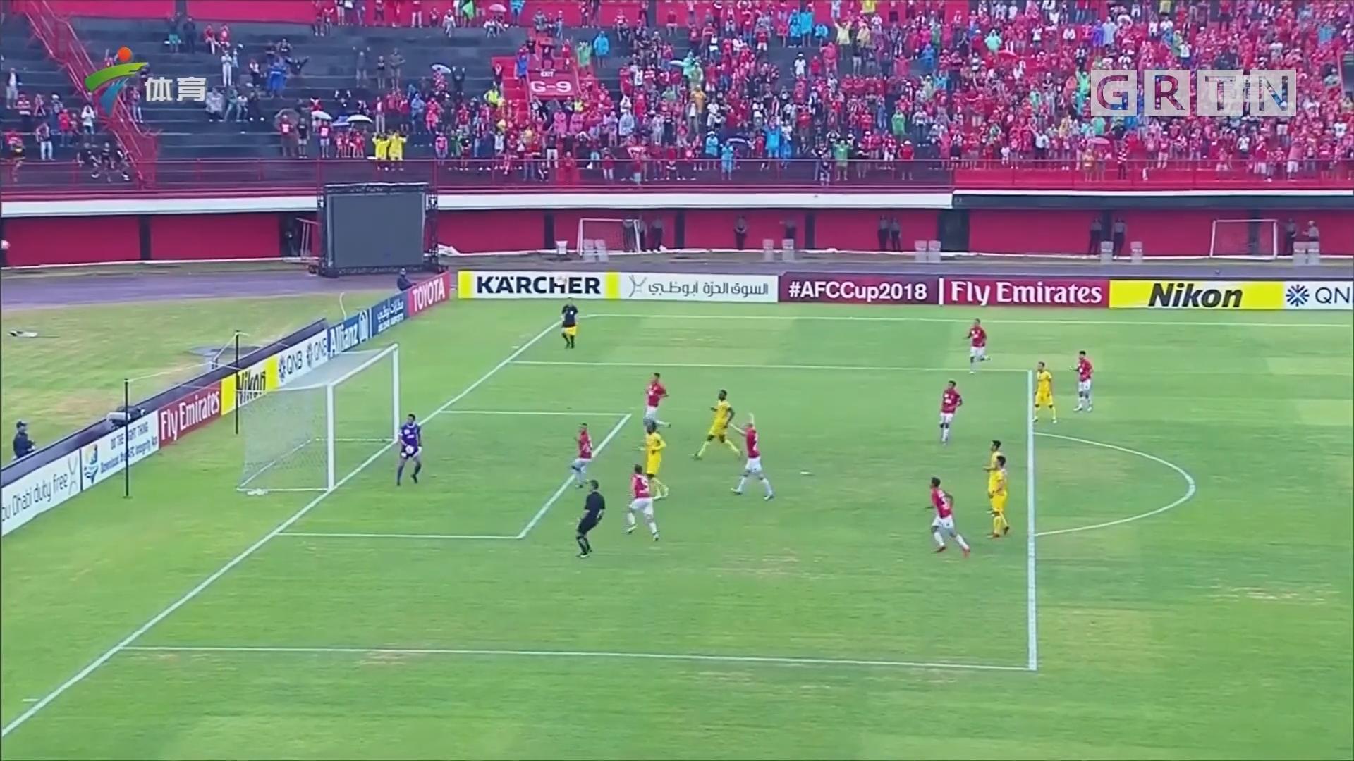 亚足联杯 巴厘联队取得赛季首胜
