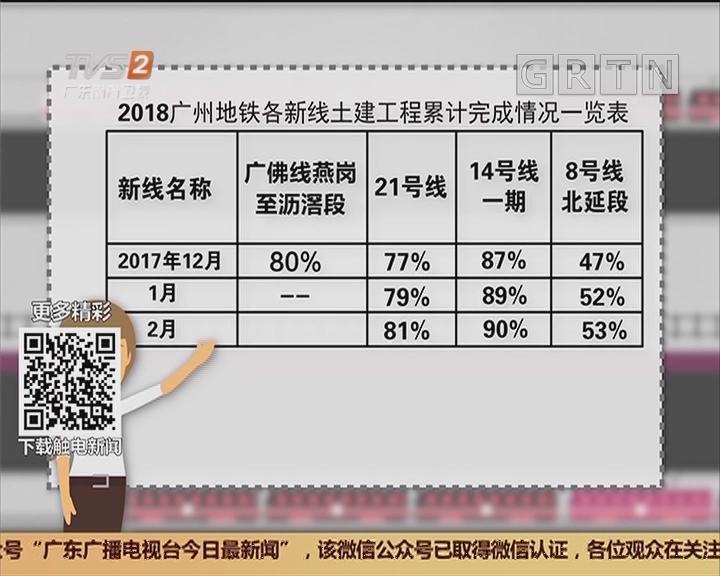 广州地铁新线路:7号线二期、12号线 今年动工