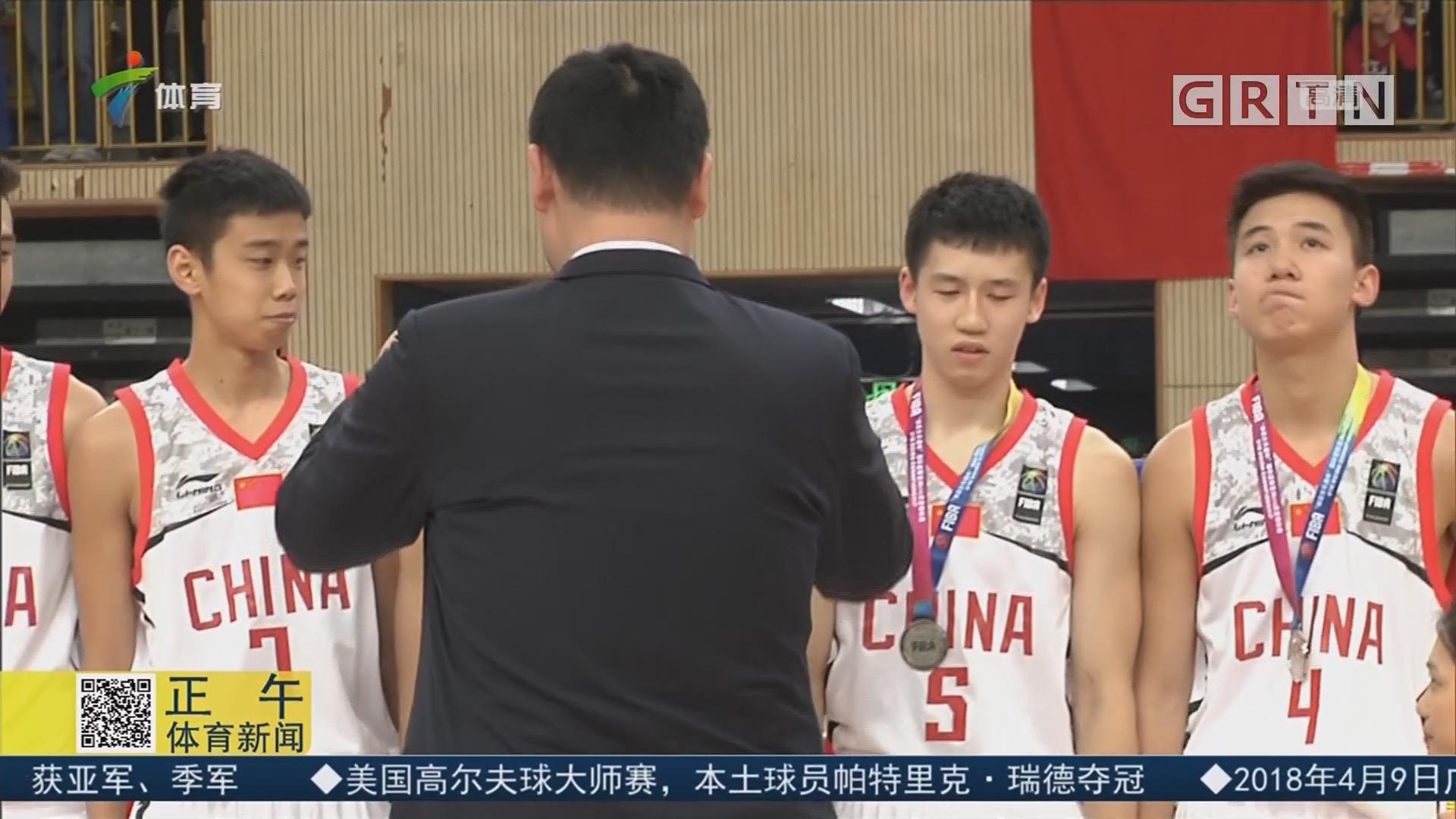 U16男篮亚锦赛 中国决赛不敌澳大利亚