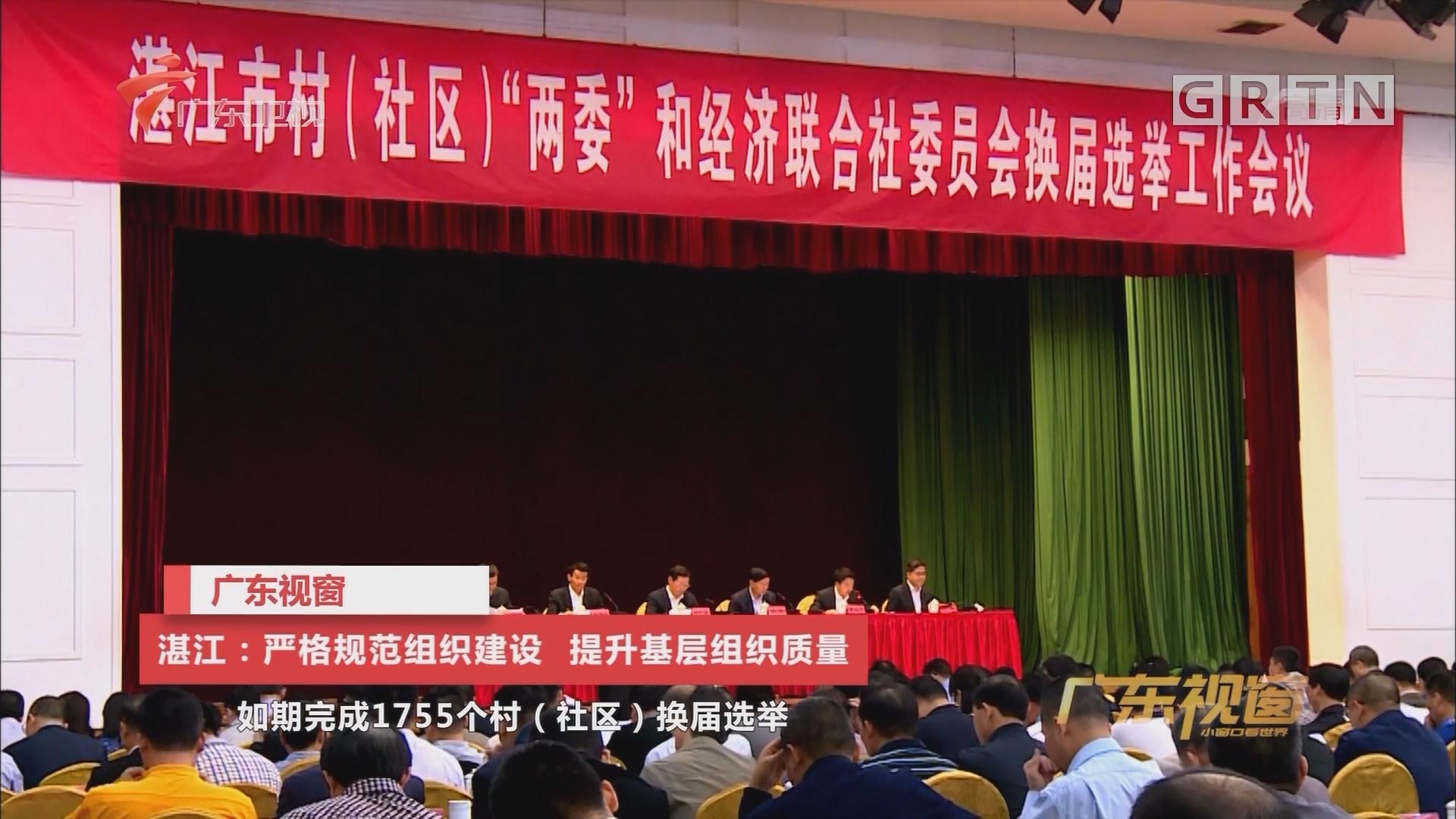 湛江:以规范化建设提升基层党建质量
