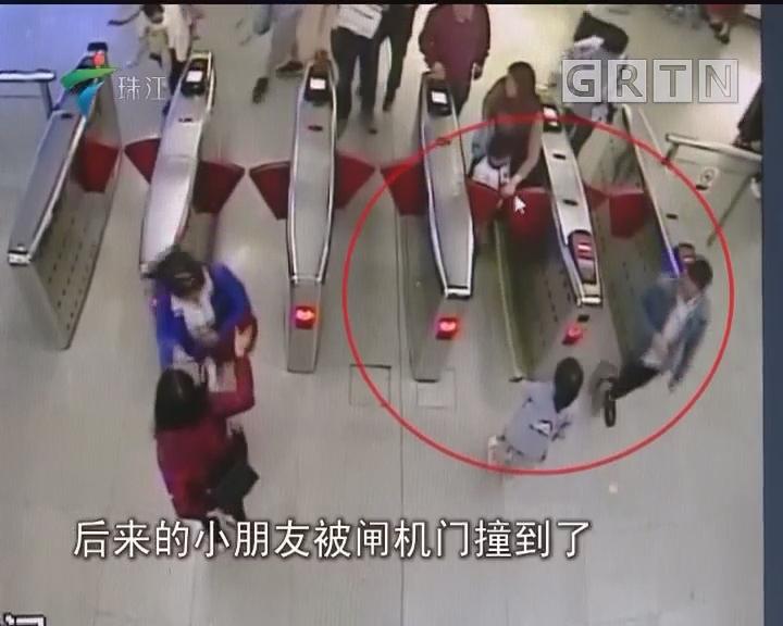 深圳:安全绳事故致地铁列车晚点