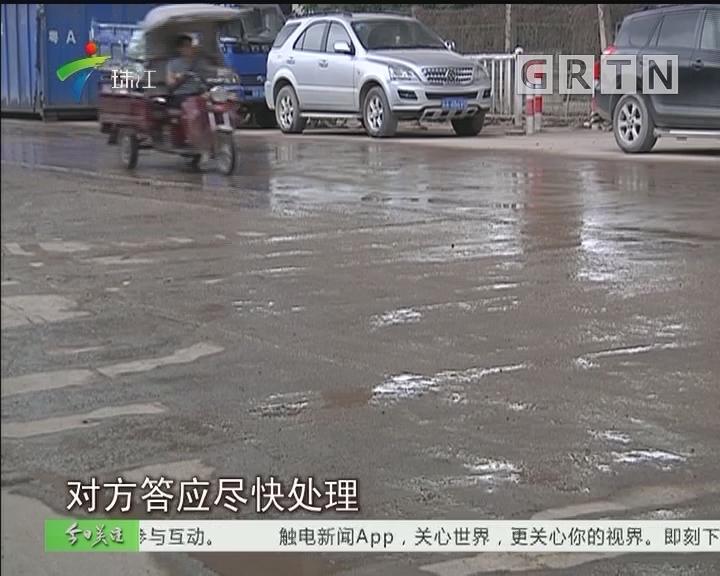 番禺:灰尘大影响健康 街坊盼尽快解决