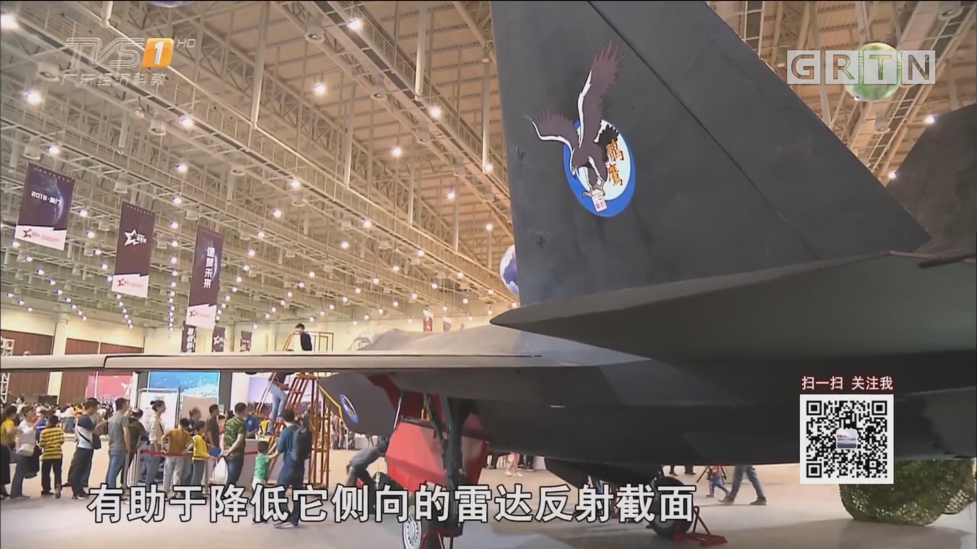歼—31战机 辽宁舰航母 等比模型折射大国重器锋芒