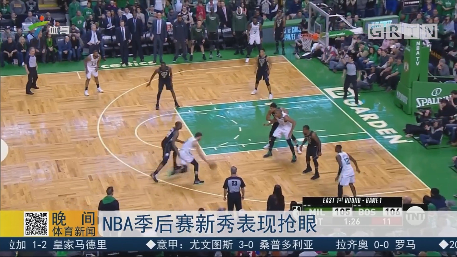 NBA季后赛新秀表现抢眼