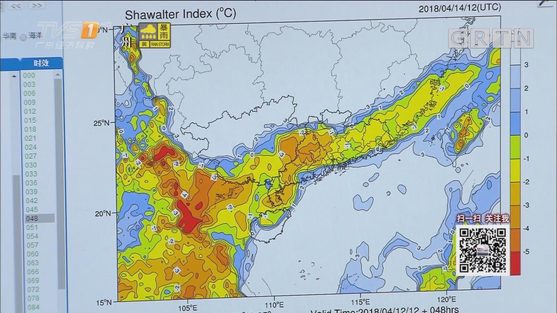 广州今年以为降水少两成 本周末有雷雨
