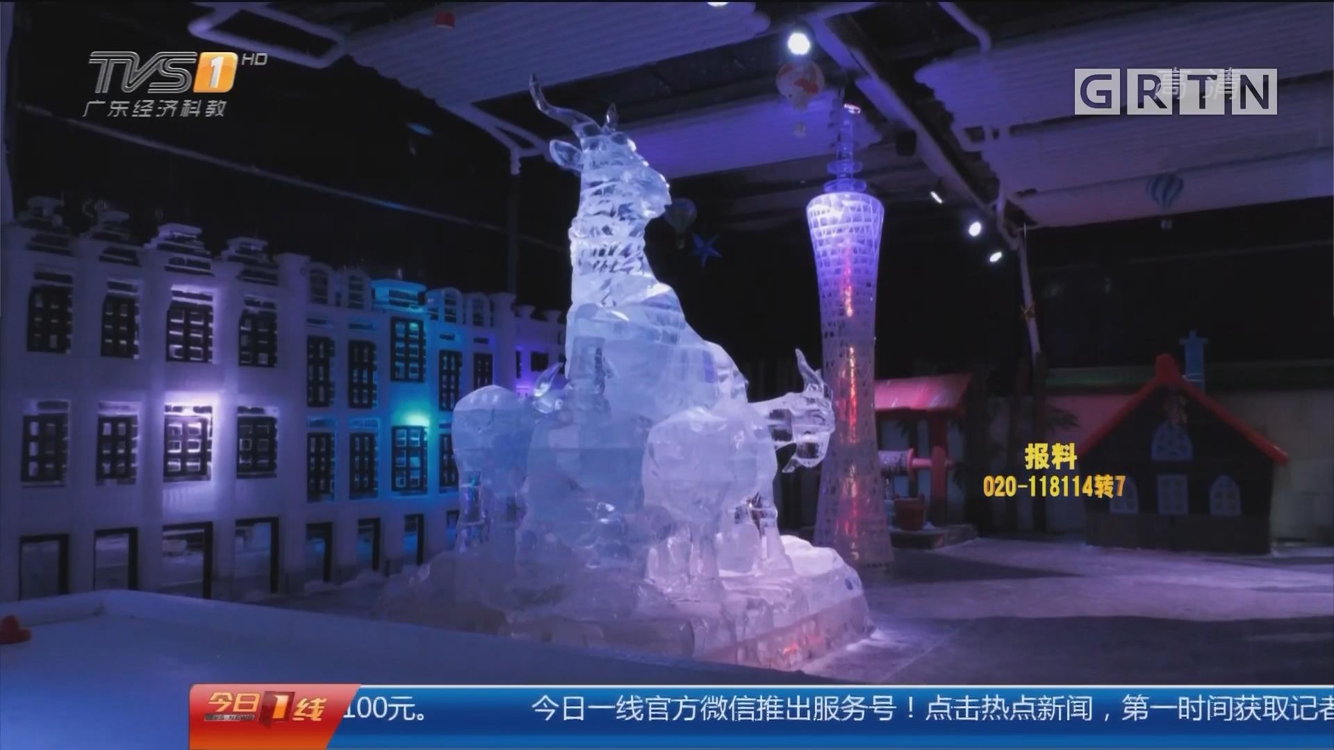 广州文化公园:冰雪乐园开园 家门口就能滑雪打雪仗
