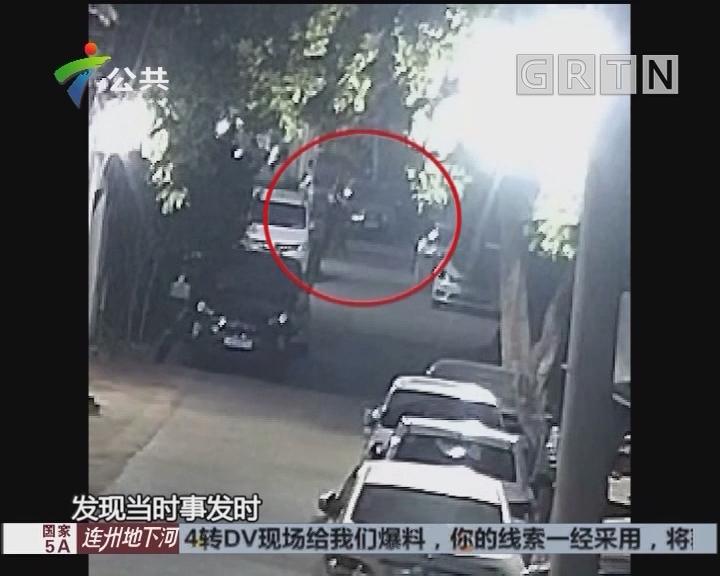 男子骑自行车被撞 因无知逃离现场被拘