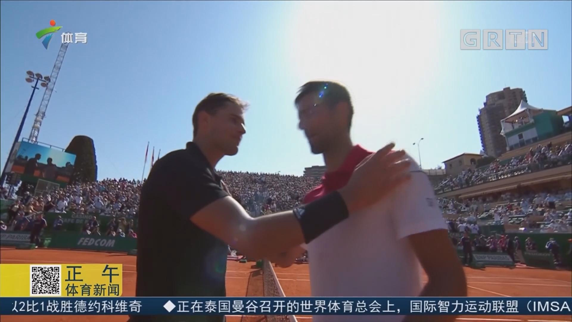 ATP蒙塔卡洛大师赛 蒂姆击败小德 将战纳达尔