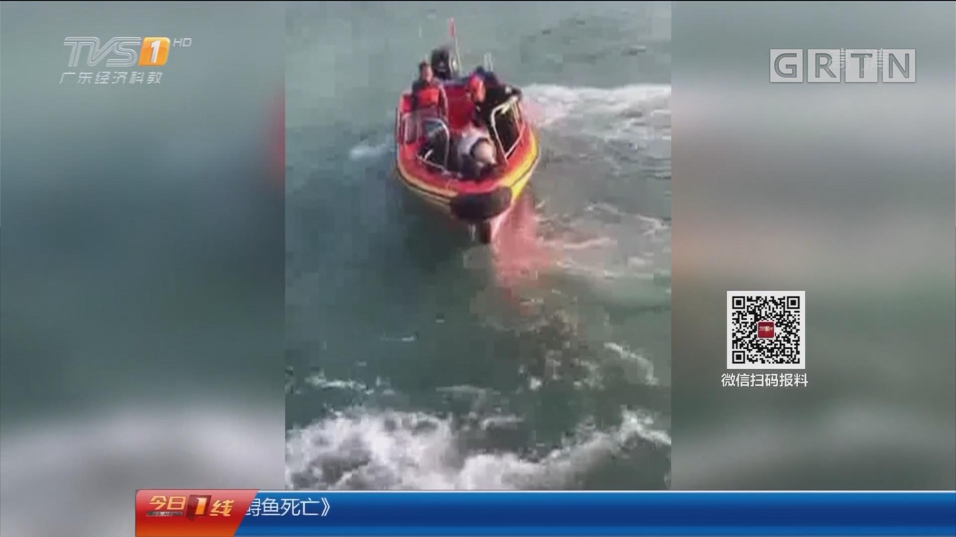 深圳:8驴友凌晨被困海岸线 民警连夜救援