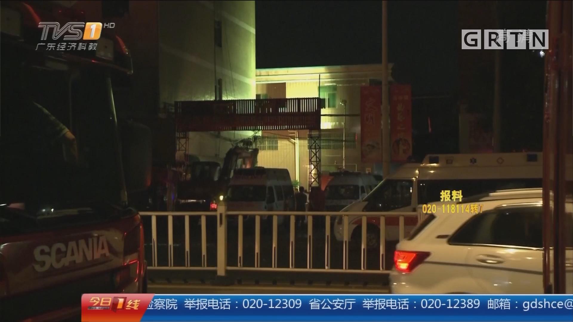 今夜最新:东莞在建工程坍塌 废墟中又救出一人 全力抢救伤员