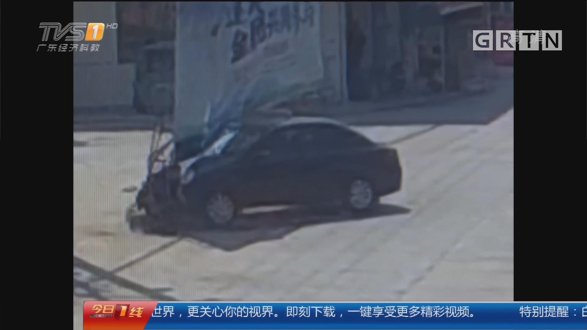 江苏镇江:小伙才学科目一 手痒开车闯大祸