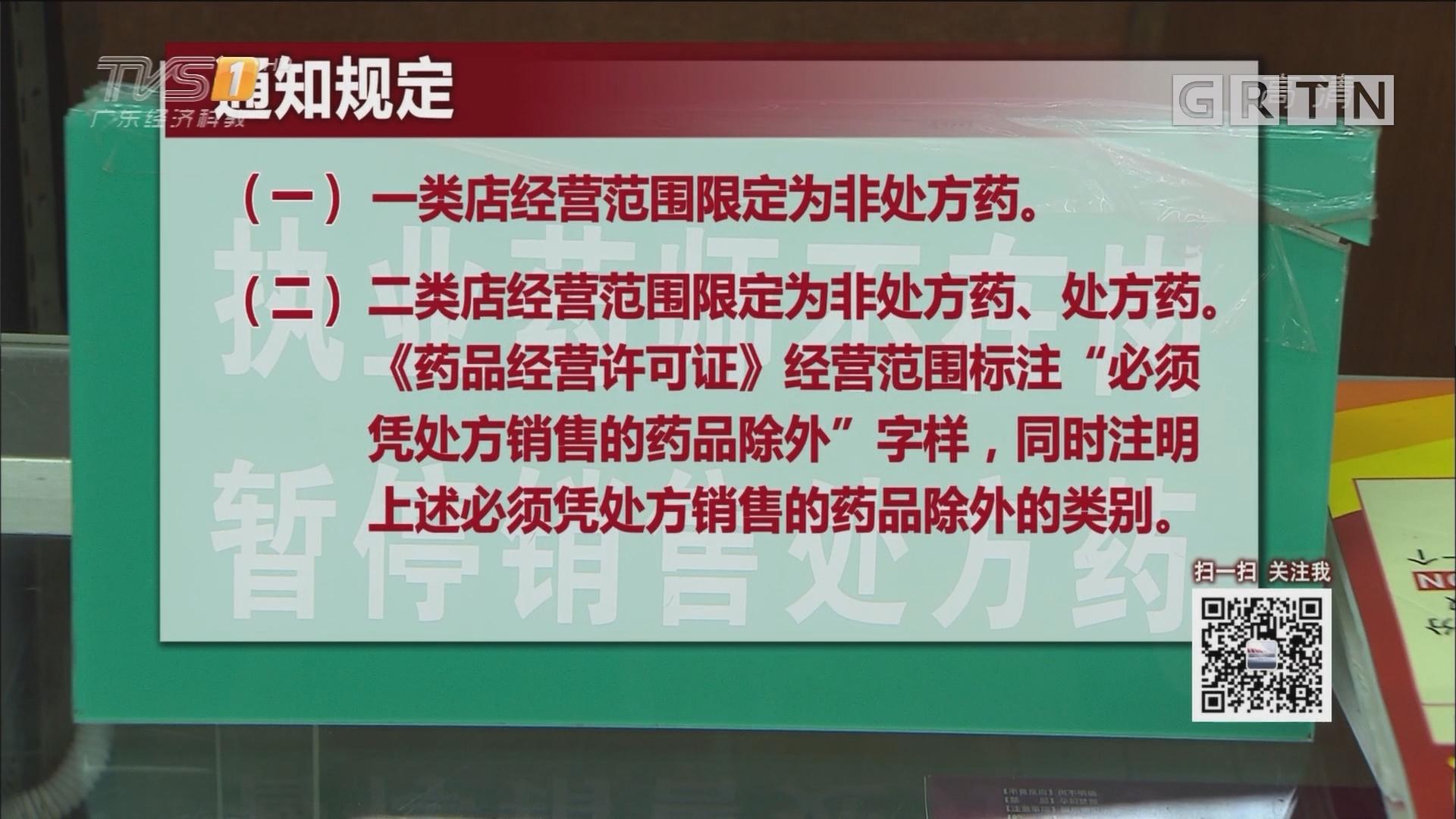 广东:4月15日起 一类药店不能售卖处方药
