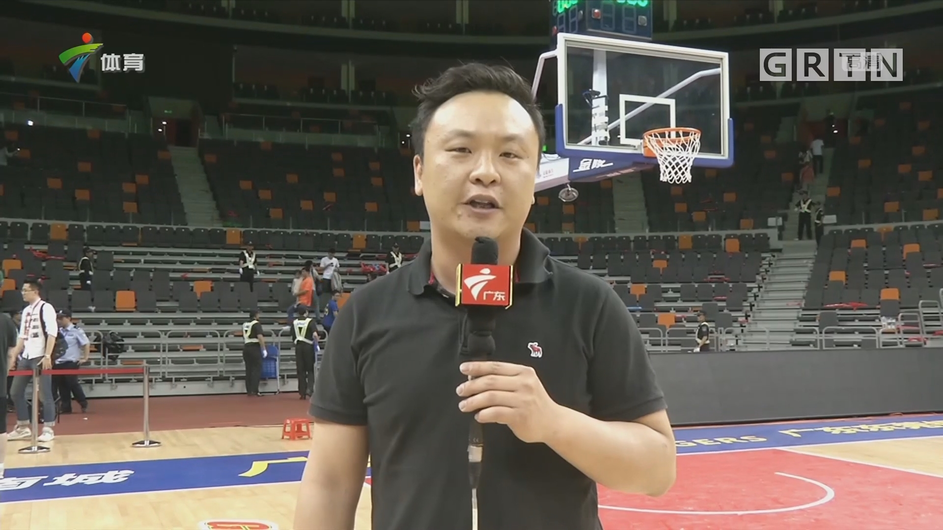 CBA记者现场连线:广东 vs 辽宁