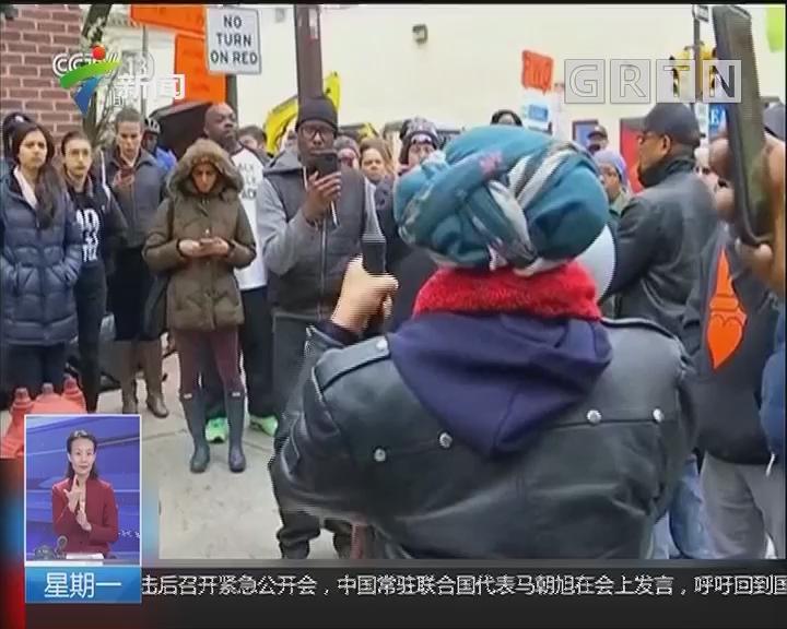 美国:黑人男子星巴克无故被捕引发抗议