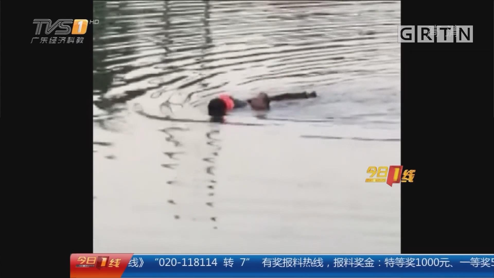 汕尾海丰 警方公布独家视频:竟是自绑手脚!