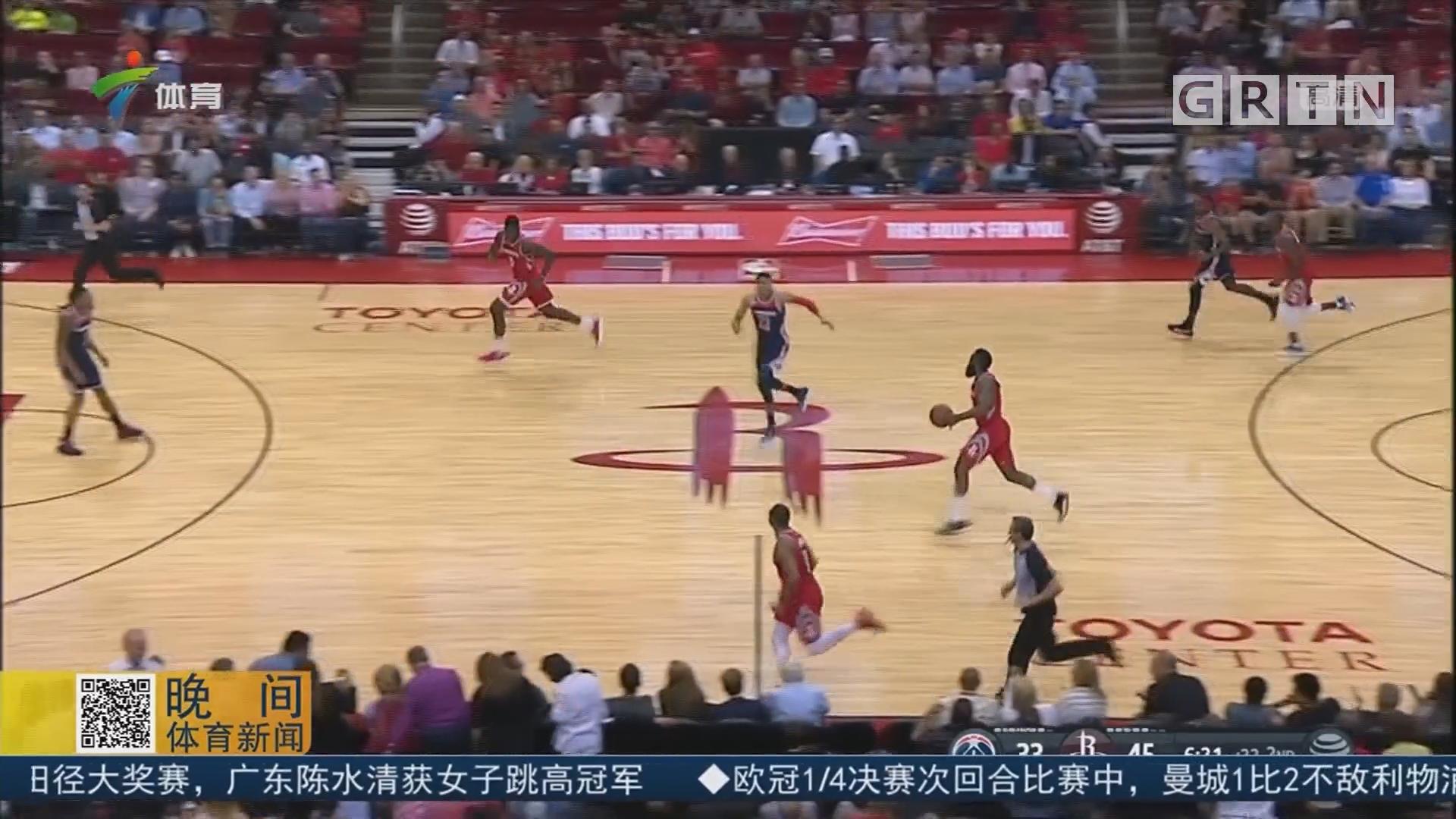 "NBA常规赛各奖项预测 哈登""稳拿""MVP"