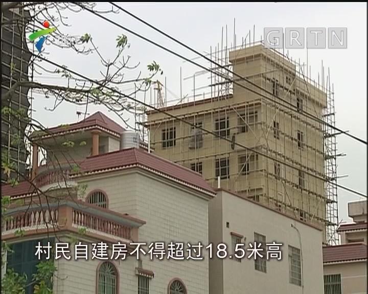 """南海:生产队长竟""""带头""""建超高违建"""