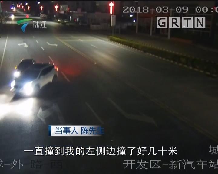 韶关:车刚买8小时 回家路上遭夹击围堵