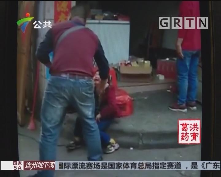 韶关:6岁男童从4楼掉下 幸得热心街坊施救