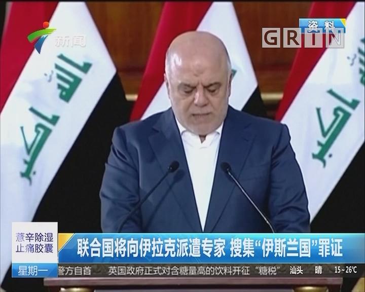 """联合国将向伊拉克派遣专家 搜集""""伊斯兰国""""罪证"""