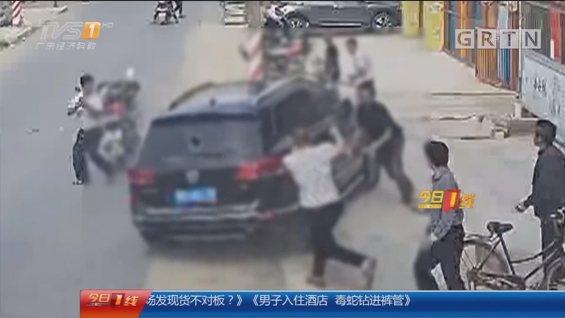 汕头警方通报驾车撞人案:驾车撞人致一死 肇事者归案