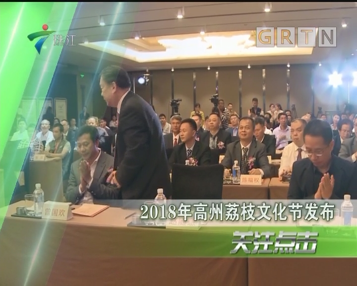 2018年高州荔枝文化节发布