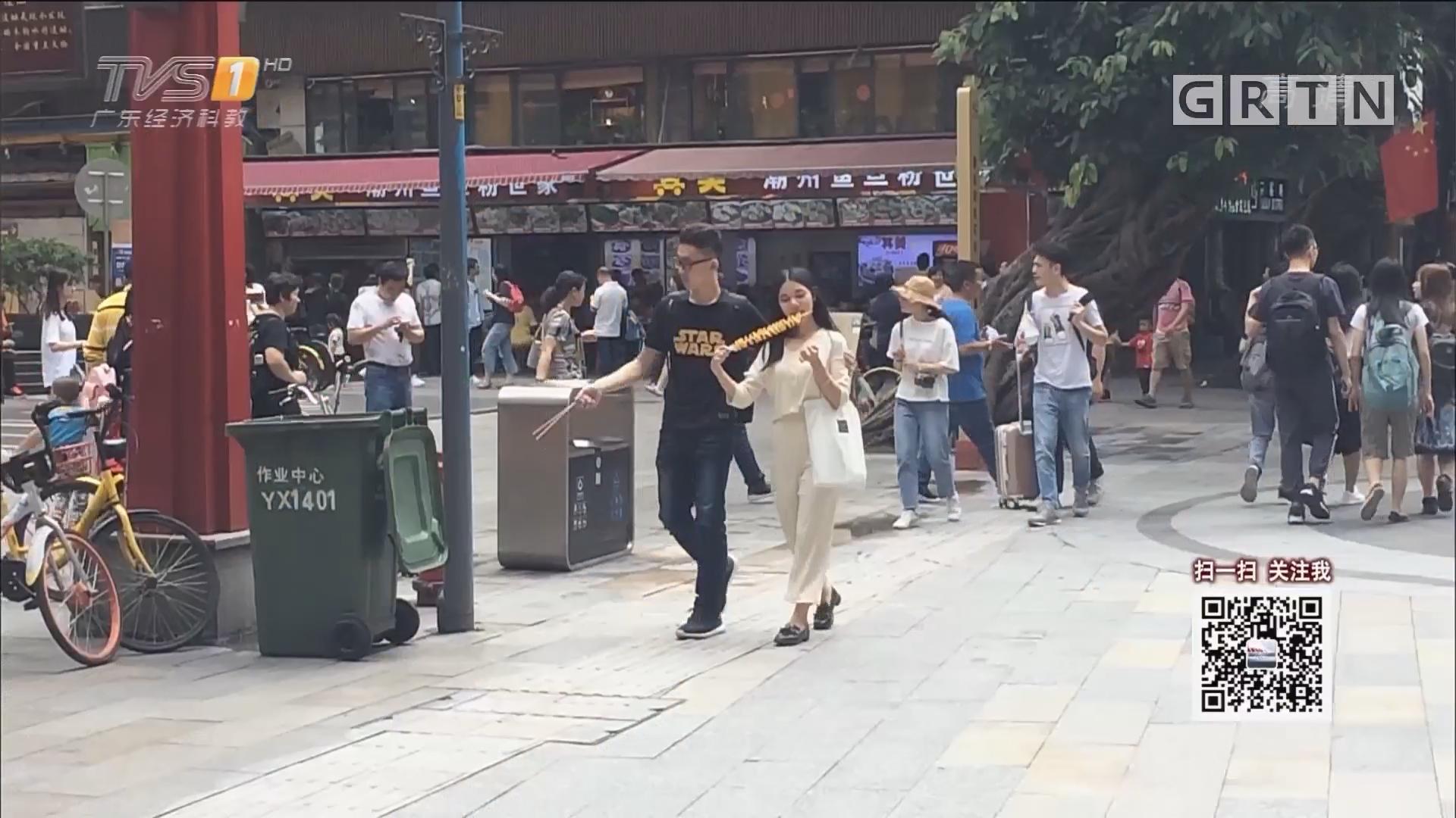 五一出行:记者巡城 曝光不文明出游行为