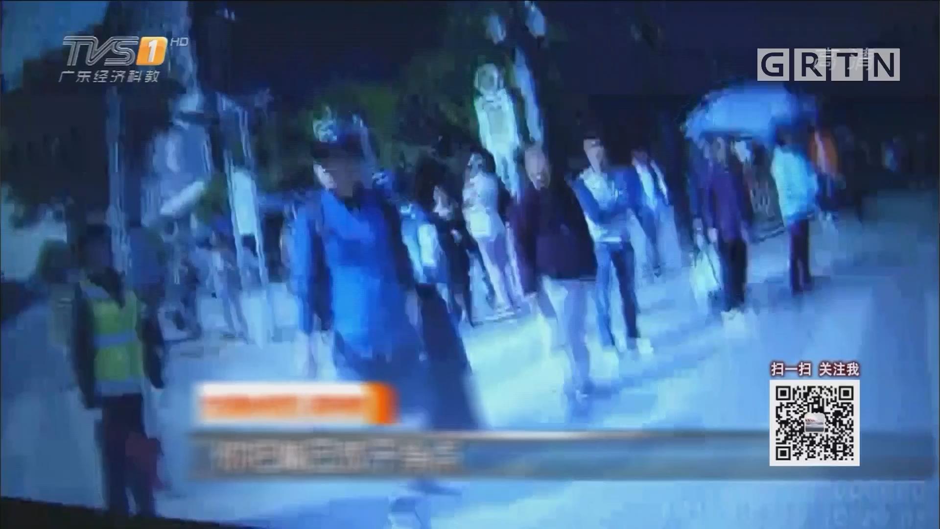 """情侣闯红灯大闹斑马线 竟诬蔑交警""""性骚扰"""""""