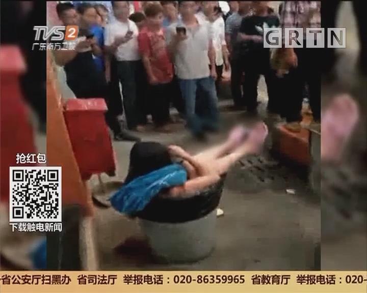 广州芳村:女子被捅多刀 行凶男子现场被制服