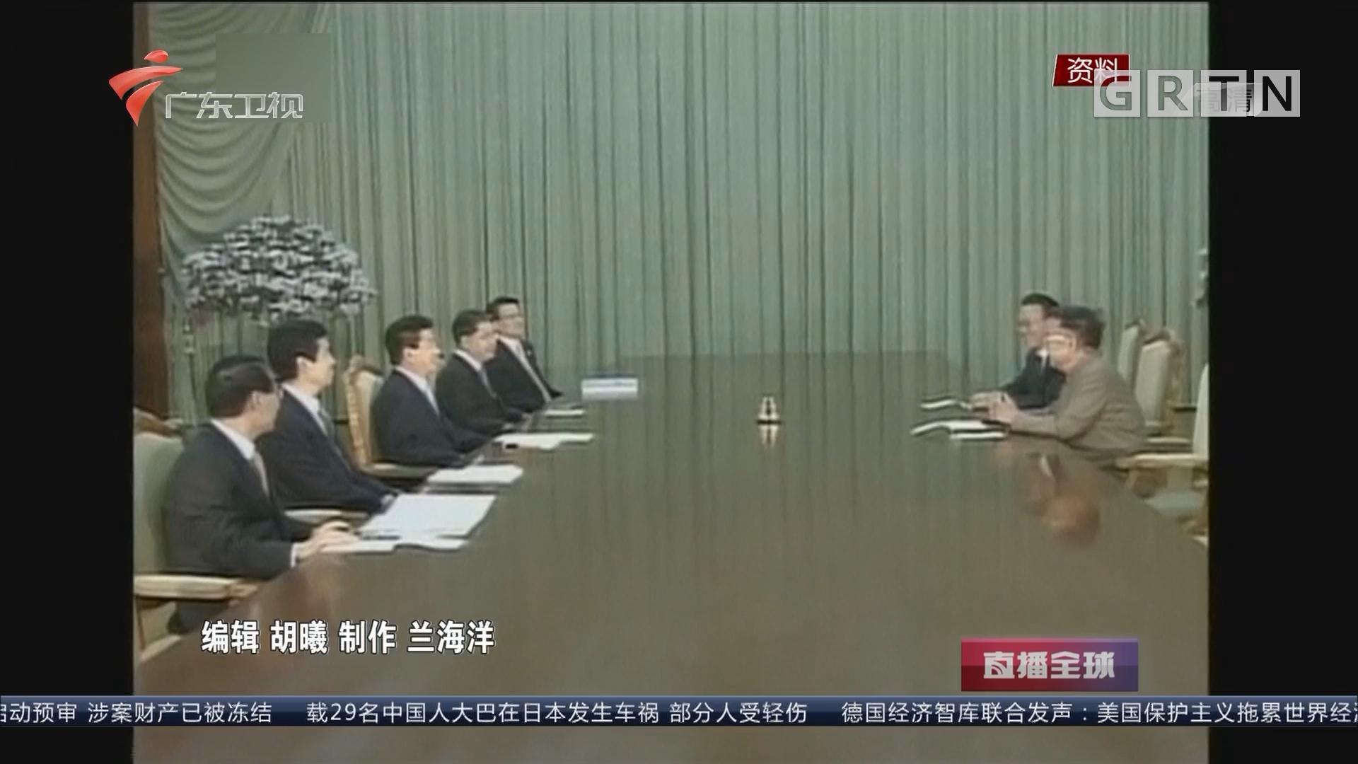 朝韩首脑会晤历史回顾 第一次:金大中与金正日在平壤会面