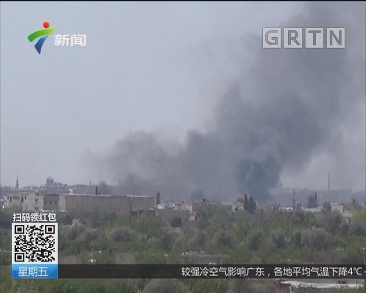 俄军方证实叙政府收复杜马镇